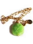 urban_hippie_green_painted_jade_power_stone_pendant_necklace_gold_modelimage1