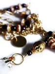 Urban Hippie Citrine & Buddha detail pendant necklace