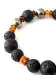 urban_hippie_lava_bead_pyrite_amber_glass_bead_bracelet_power_stone_jewellery_modelimage2