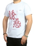 Kanji T-shirt - Temptation in Blue