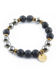 urban_hippie_hematite_lava_bead_gold_czech_glass_power_stone_stretch_bracelet_modelimage1