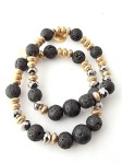 Urban Hippie Lava bead jewellery