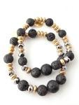 Urban Hippie Lava bead jewellery