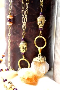 urban hippie-j022-citrine-necklace-buddha-candles-portait-image 1